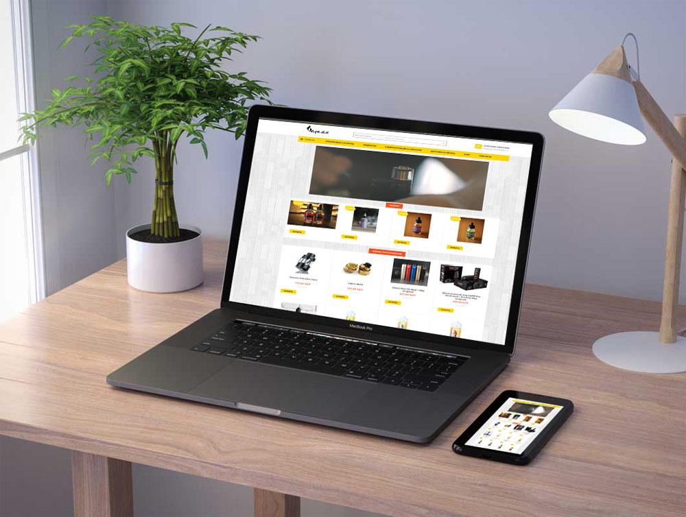 Интернет магазин «Vape»
