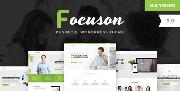 Сайт бизнес focuson (артикул 009) — 559$