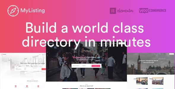 Справочник организаций города (каталог компаний) - Directory & Listing WordPress Theme