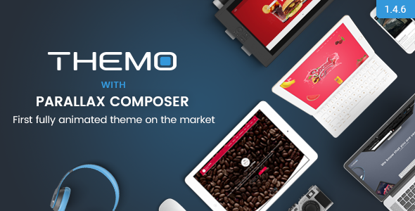 Мультисайт Themo-creative parallax multi-purpose (артикул 13) - 799$