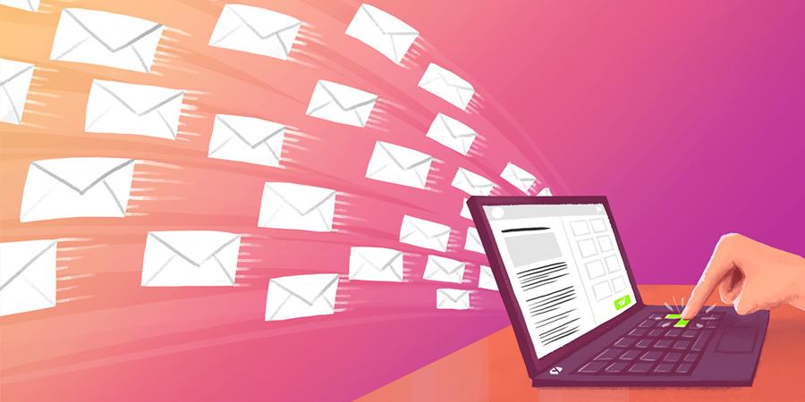 Email рассылка сообщений